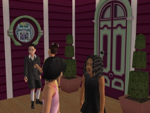 Nadia threatens Cecilia