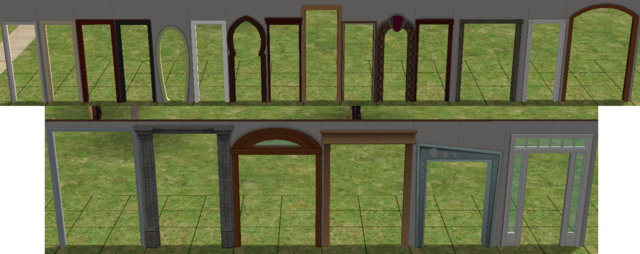 File:Every Arch In The Sims 2 Including EPs And SPs.png