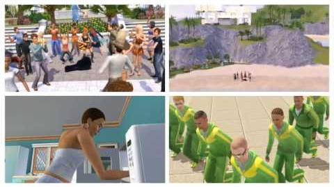 The Sims 3 Addictive TV Video Remix