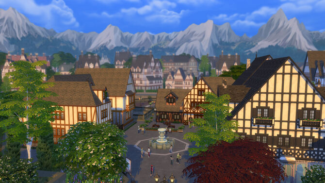 Windenburg townsquare