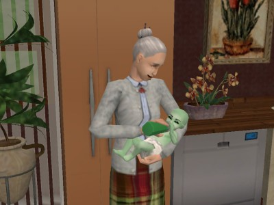 File:Nanny feeding an alien.jpg