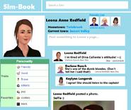 Simbook leona page