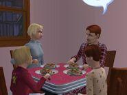 Dinner at the McDooglewurtz home