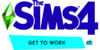 The Sims 4 Get to Work Logo.png