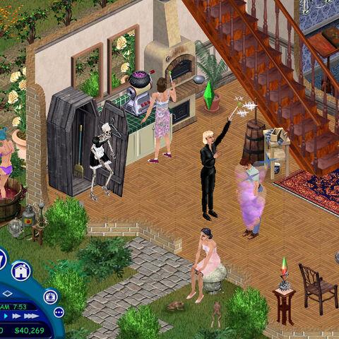 Геймплей в <i> The Sims</i>