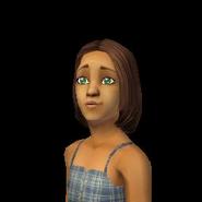 Ann Schweiger as a Child