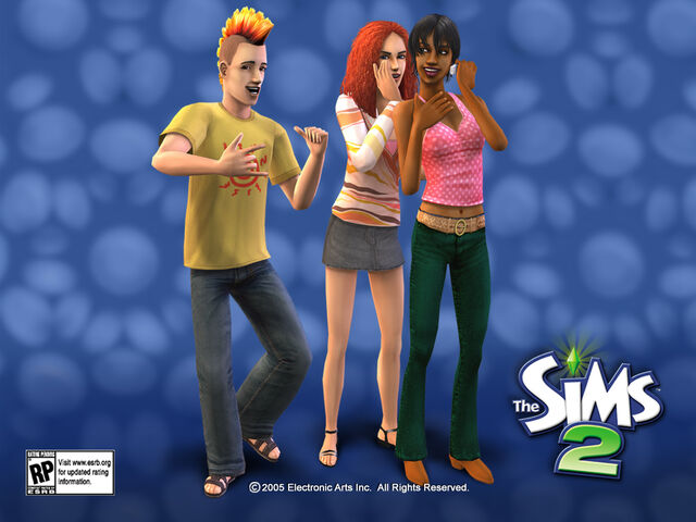 File:Sims 2 Red unused hair.jpg