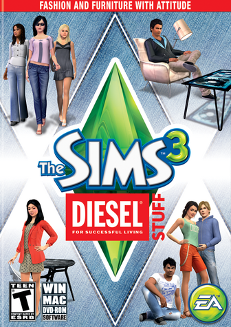 File:The Sims 3 Diesel Stuff Cover.png