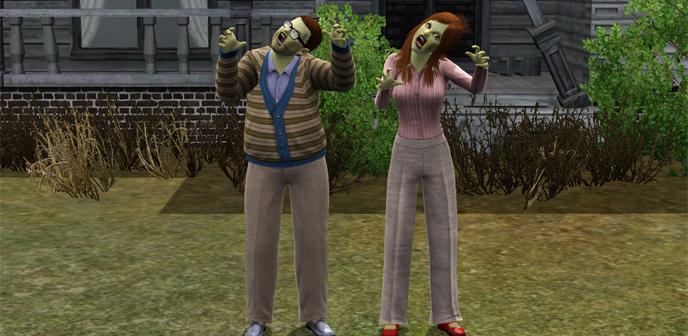 comment devenir zombie dans les sims 2 pc