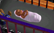 Baby in TS3