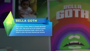 Bella Goth TS4 Easter Egg
