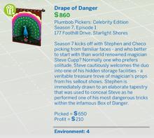 Drape of Danger