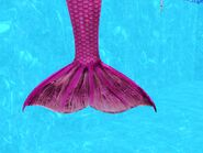 Female mermaid tail