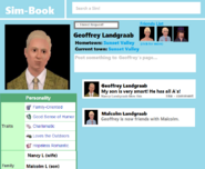 Geoffrey Landgraab simbook page