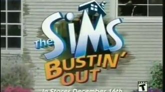 The Sims Bustin' Out Commercial Trailer