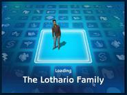 Loading screen of Lothario family
