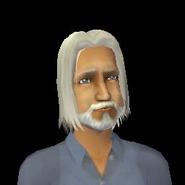 Claudio Monty as an elder