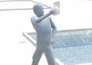 Dean´s statue