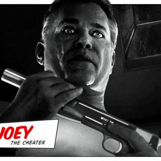 Meet Joey, the cheater.