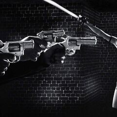 The Uzi and other guns are seen in this film.