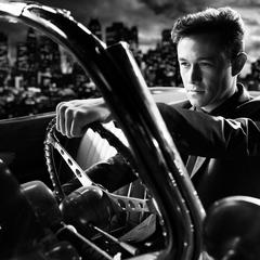 Johnny drives.