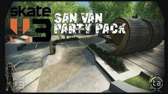 Skate 3 - San Van Party Pack DLC Photo Challenges