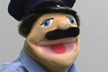 Skippy Shorts Cop Shocked