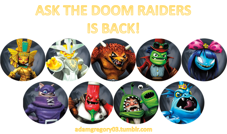 User blog:AdamGregory03/Ask the Doom Raiders | Skylanders ...