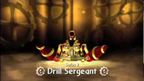 "Meet The Skylanders - Series 2 Drill Sergeant ""Licenced To Drill!"" Official Trailer"