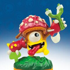 Figura lightcore de Shroomboom