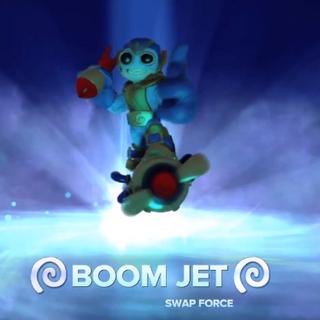 Boom jet entrando al portal