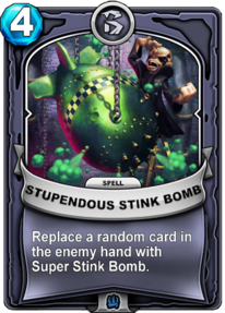 Stupendous Stink Bomb (Passive)card