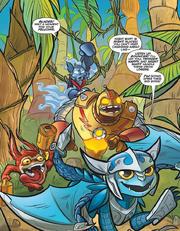Skylanders Micro Comic5 Strip