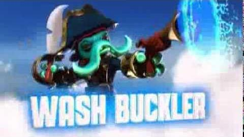 Skylanders Swap Force - Wash Buckler Soul Gem Preview (Eight Legs and No Pegs)
