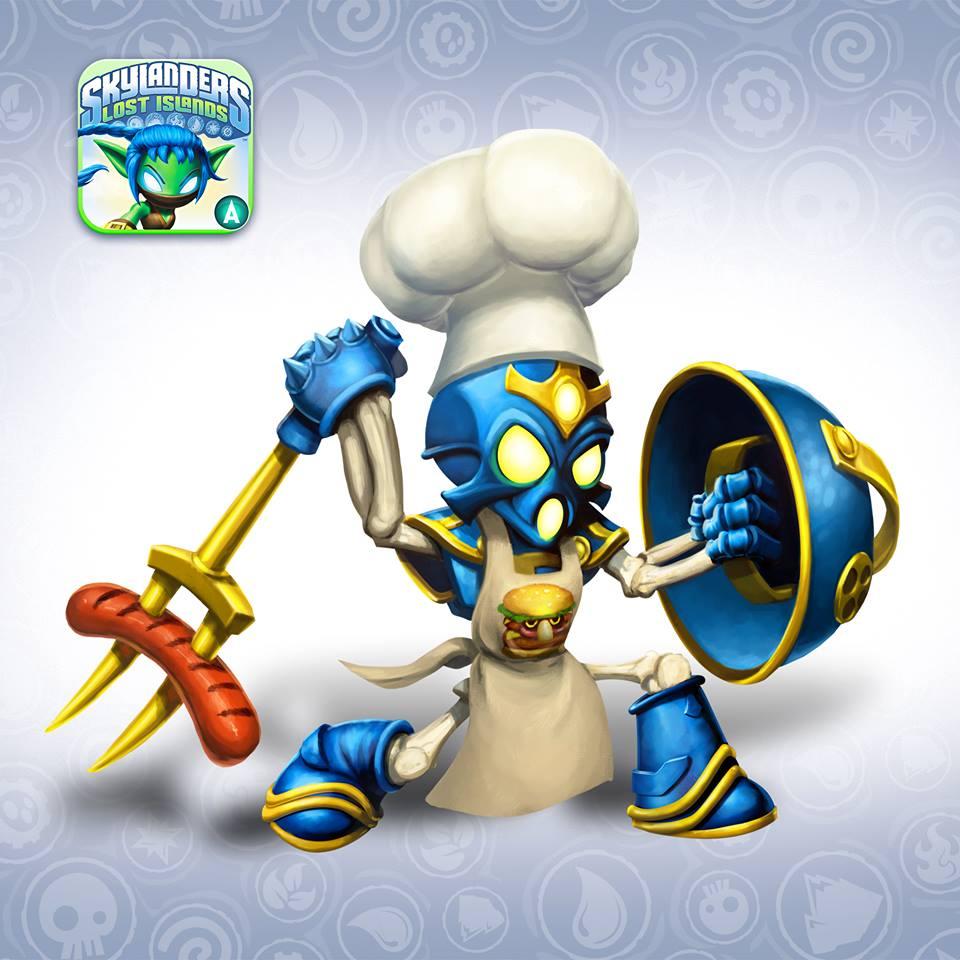 Grill Master Chop Chop Skylanders