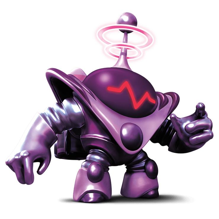 Blaster-Tron  ch...Skylanders Swap Force Coloring Pages Blast Buckler