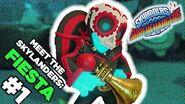 Meet the Skylanders Fiesta and Crypt Crusher