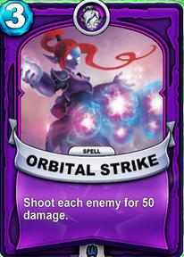 Orbital Strikecard