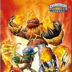 Poster de los skylanders de fuego en <a href=