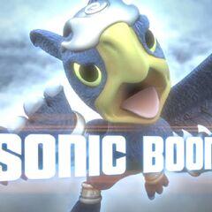 Sonic Boom en el trailer