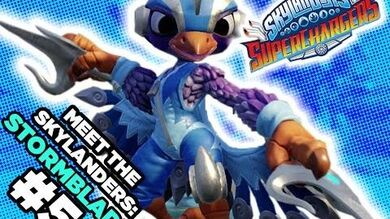 Meet the Skylanders SuperChargers Stormblade and Sky Slicer
