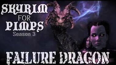 Skyrim For Pimps - Failure Dragon (S3E06) Dawnguard Walkthrough-0