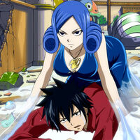 Grey inside Juvia's body-1
