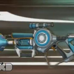 Pronto's blaster.