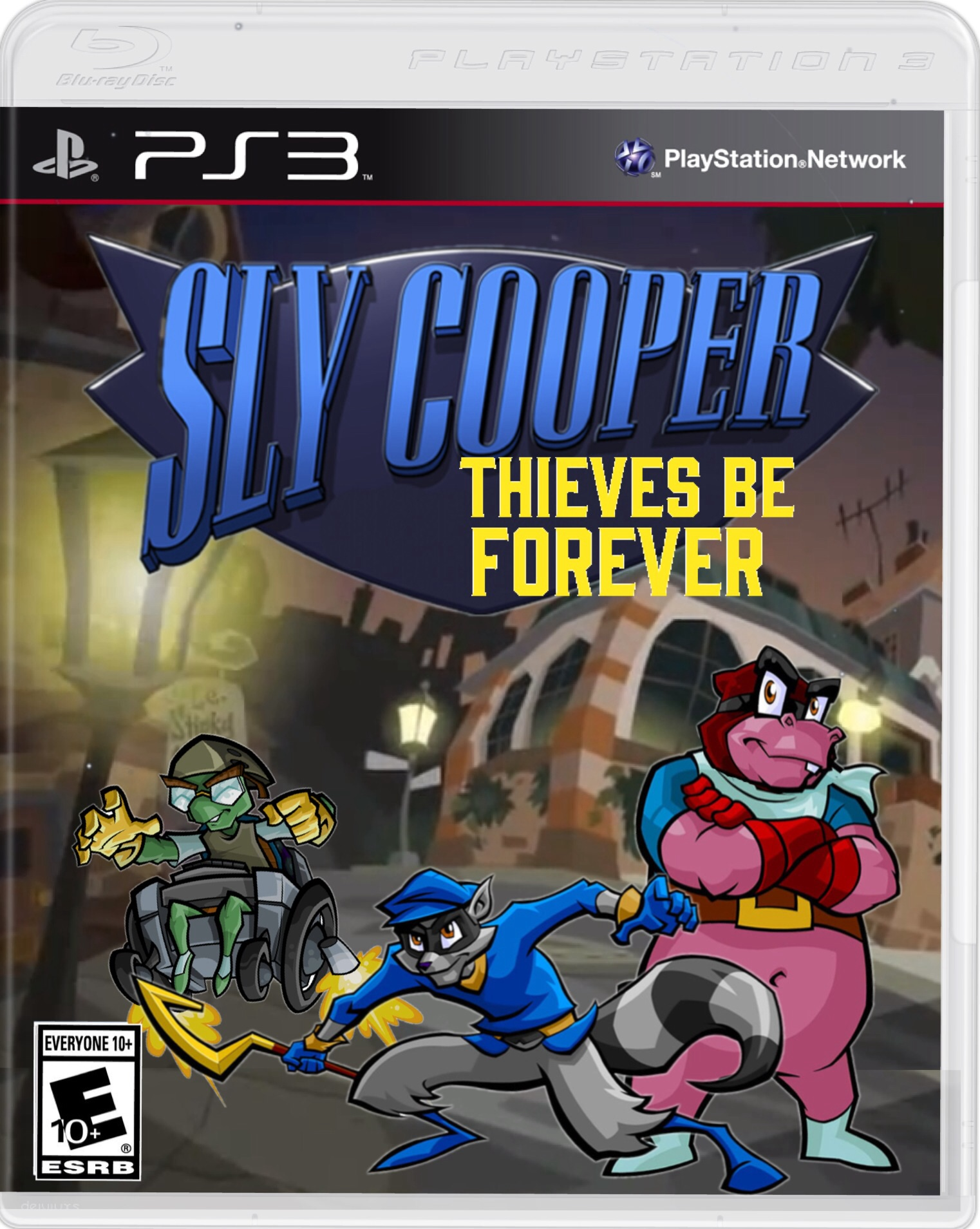 Sly Cooper 5 Thieves Be Forever Sly Cooper Fan Fiction