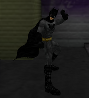 SMALLVILLE ANB BATMAN