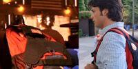 Clark Kent's backpack