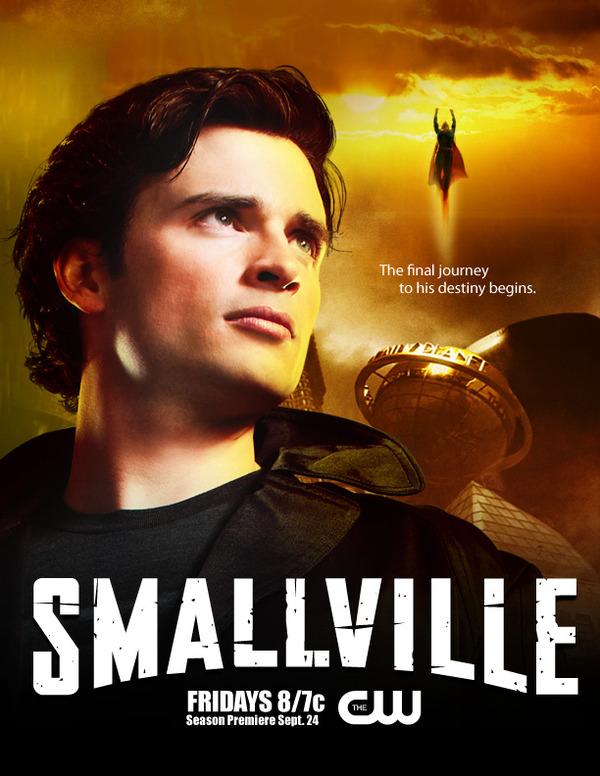 Smallville Season Villains Smallville Season 10 Poster 3