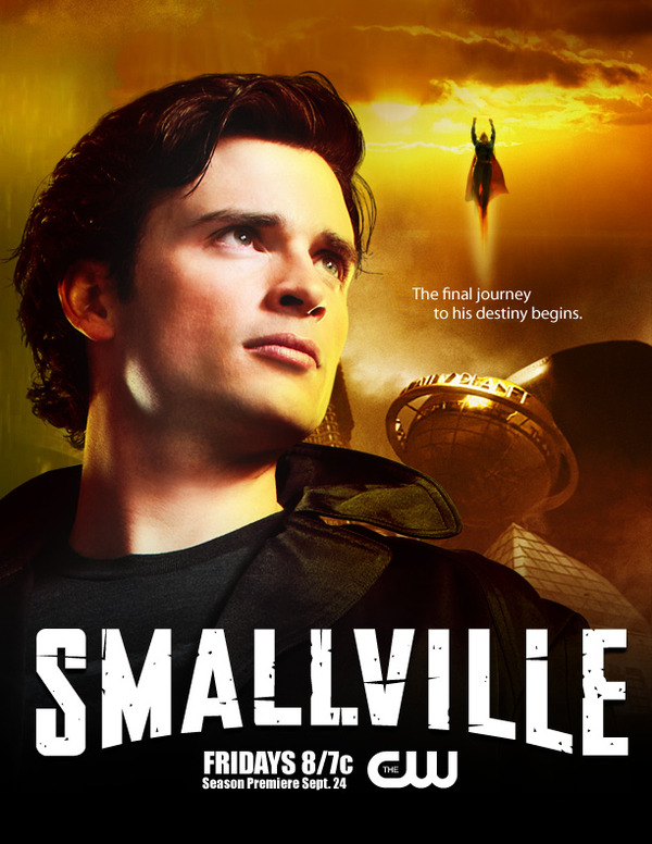 Smallville Season 3 Poster Smallville Season 10 Poster 3