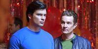 Clark and Brainiac